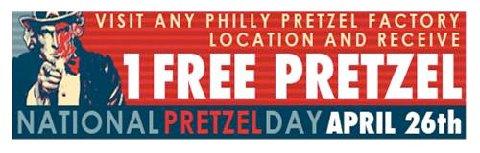 National-free-pretzel-day